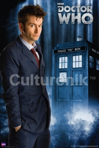 """Doctor Who 10th 24/"""" x 36/"""" poster print"""