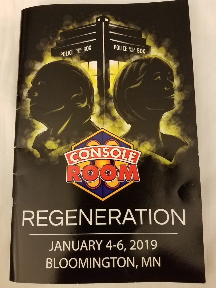 Console Room Program 2019