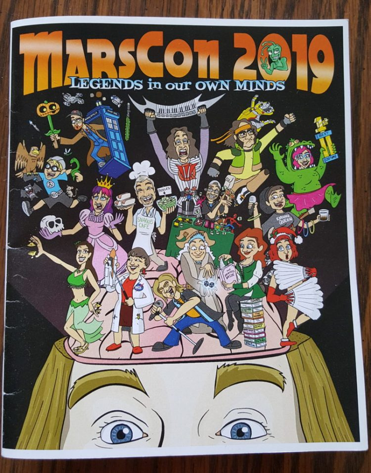 Marscon 2019 program Cover