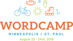 WordCamp MSP 2019 Logo
