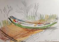 Boat at Kau-ur