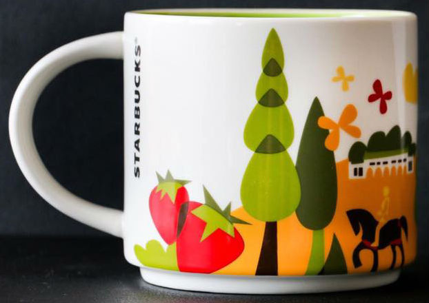 You Are Here Baguio Starbucks Mugs
