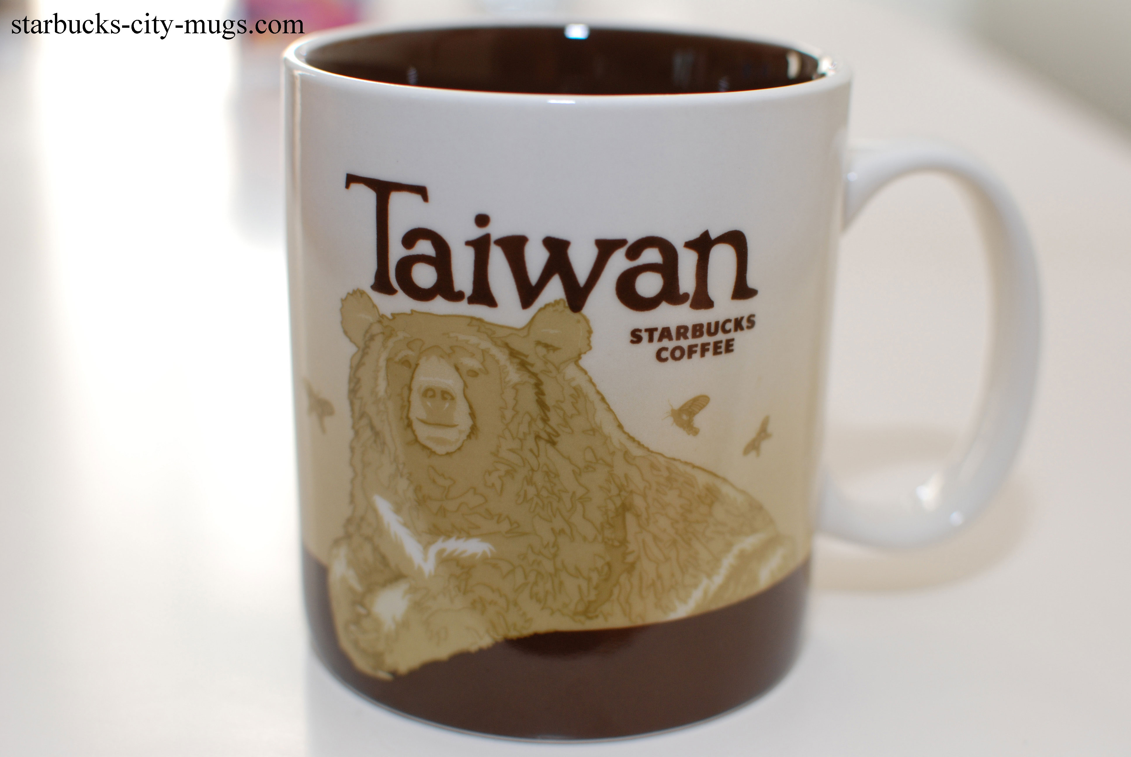 Taiwan Icons Starbucks City Mugs