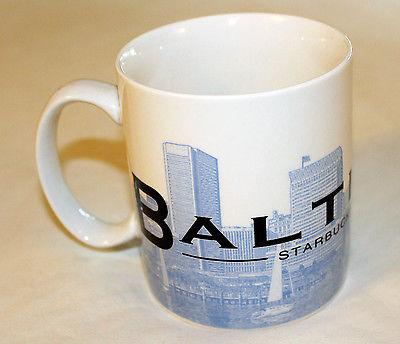 Baltimore Starbucks City Mugs