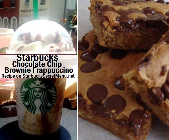 Starbucks Chocolate Chip Brownie Frappuccino Starbucks