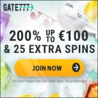 Gate 777 Casino Offers 200% Match Bonus + 25 Free Spins