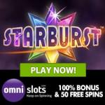 50 Free Spins & €300 Welcome Bonus at Omni Slots Casino