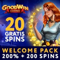 GoodWin Casino 20 Free Spins No Deposit Required!