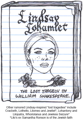Lindsay Lohamlet the lost tragedy of Shakespeare