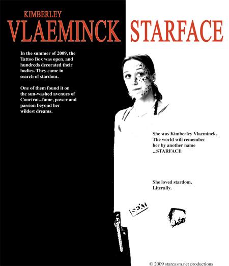 Kimberley Vlaeminck in Starface