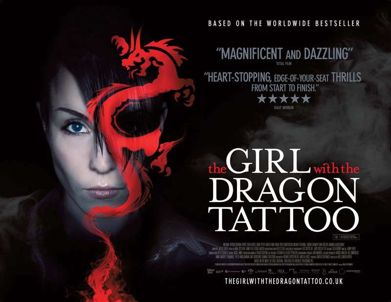 The Girl With The Dragon Tattoo movie poster