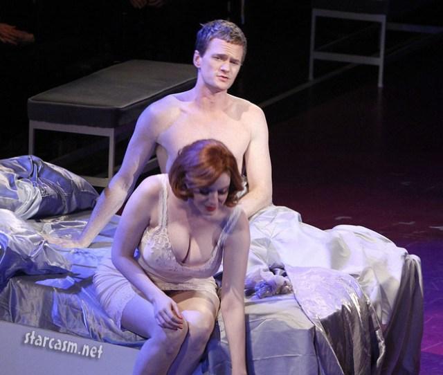 Christina Hendricks Breasts In Company
