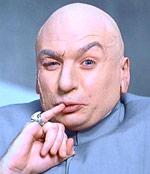 Dr. Evil little finger pose one million dollars