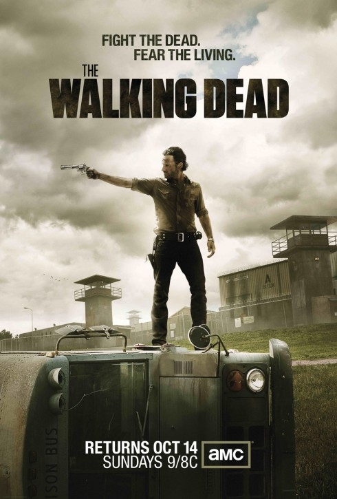 High resolution The Walking Dead Season 3 poster wallpaper size