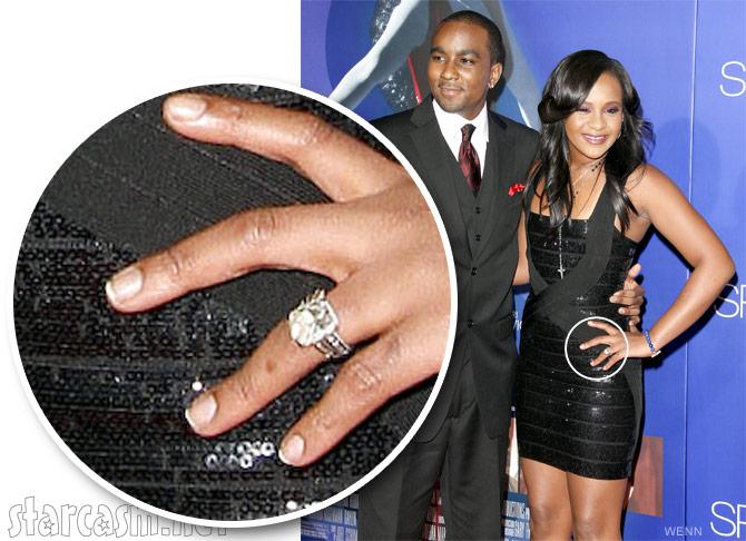 Show Whitney Houston Wedding Ring