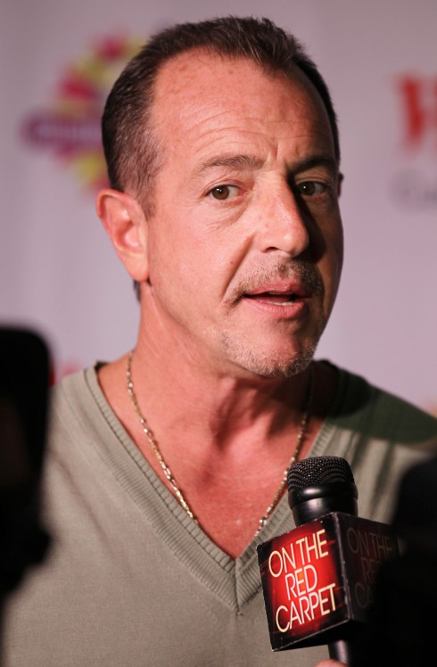Michael Lohan attends Kim Zolciak creates her own shake at Millions Of Milkshakes in Culver City in Los Angeles, California, United States.