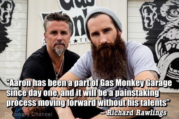 Aaron Gas Monkey Garage