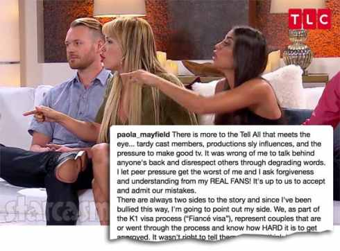 90 Day Fiance Happily Ever After Tell All Loren Pao apology