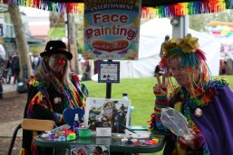 Face paint booth