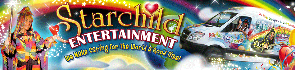 Starchild Entertaiment - Children's Entertainer Vancouver, B.C. Canada