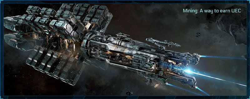 How do I earn UEC? A mining ship called Orion