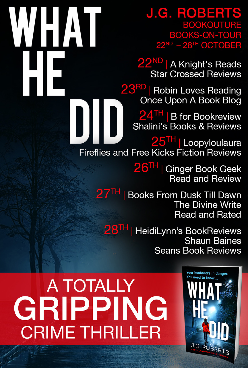 Blog Tour Review: What He Did