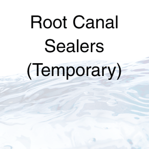 Root Canal Sealers (Temporary)
