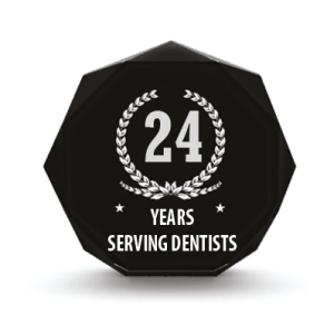 24 Years serving dentists