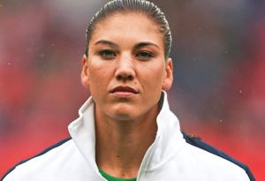 hope solo height