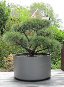 extra large round outdoor planter pot 30 diameter