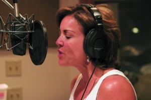 Cecilia In The Studio 2