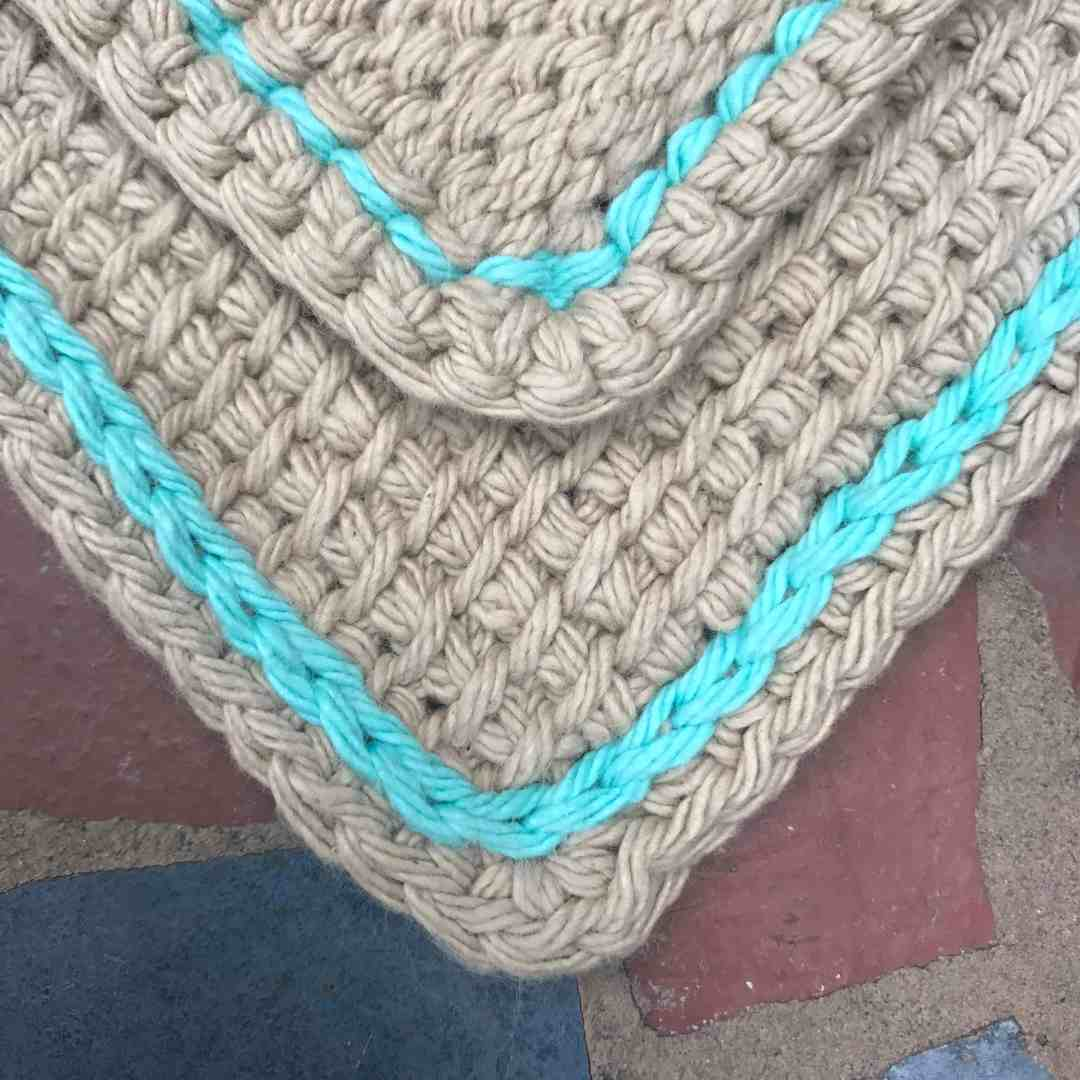 Tunisian Crochet Simple Stitch Tutorial How To Crochet A