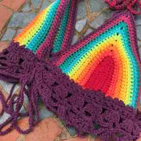 Rainbow Bikini Angeled
