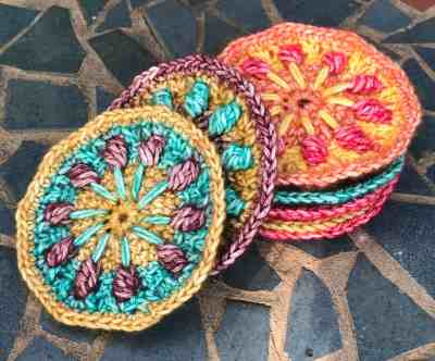 Summer Solstice Mini Mandala Motifs
