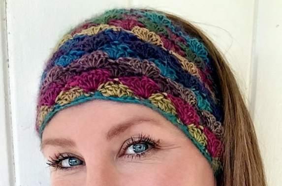 Waterfall Rainbow Headband