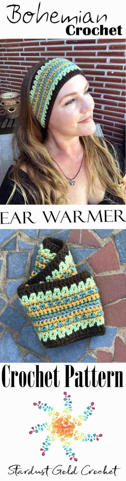 Bohemian Head Warmer Graphic Smaller
