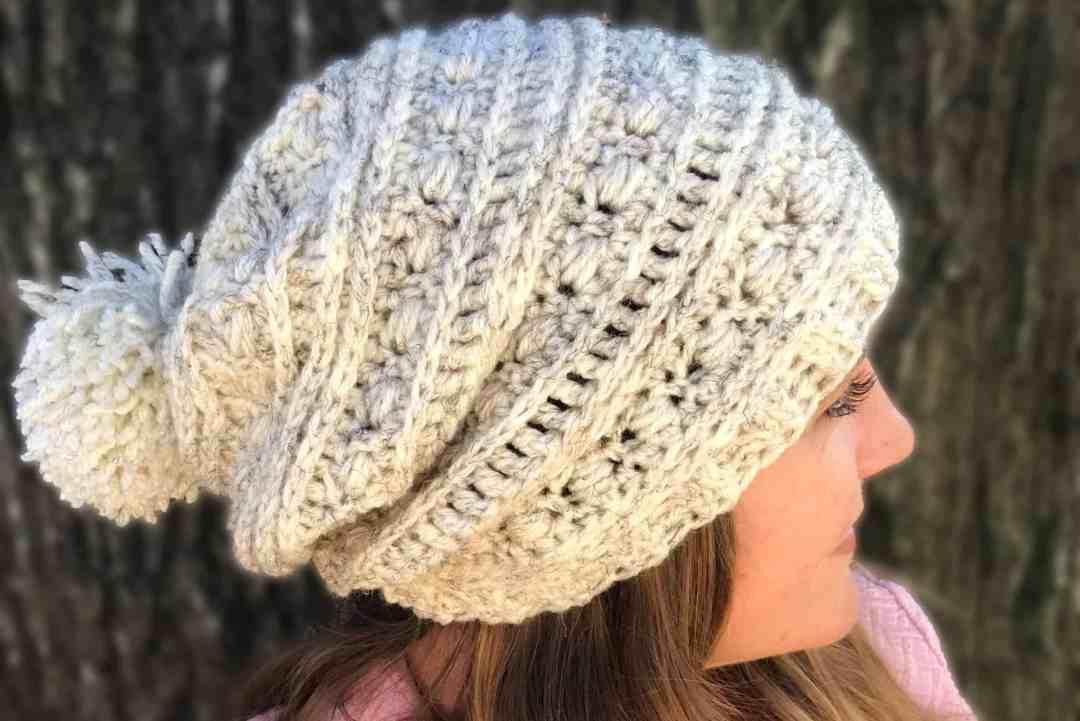Sequoia Ridge Slouch ~ easy slouchy hat crochet pattern – Stardust ...