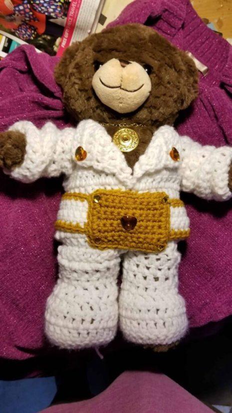 Elvis Onsie Crochet