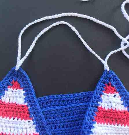 Abby's American Dream Crochet Bikini
