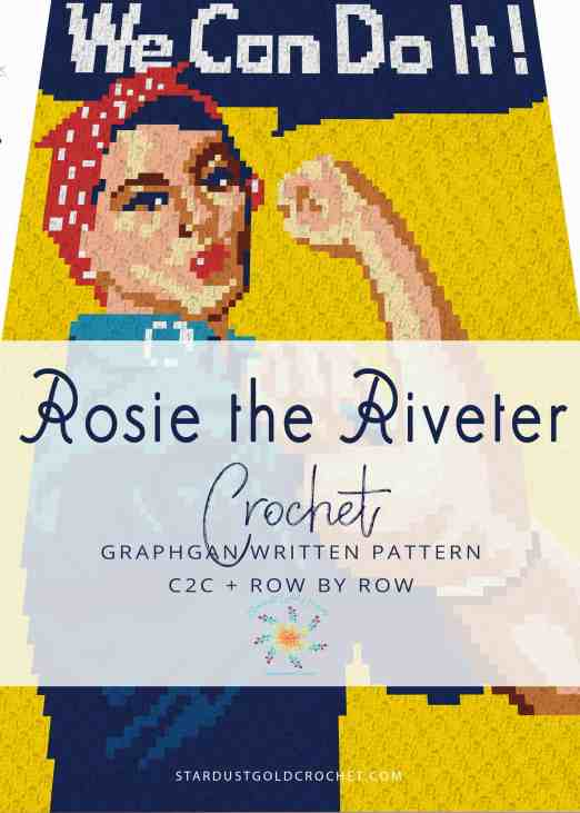 Rosie the Riveter Graph, C2C written, row by row written