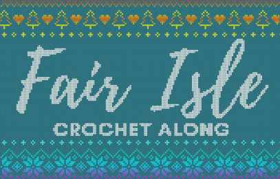 fair isle crochet along 36