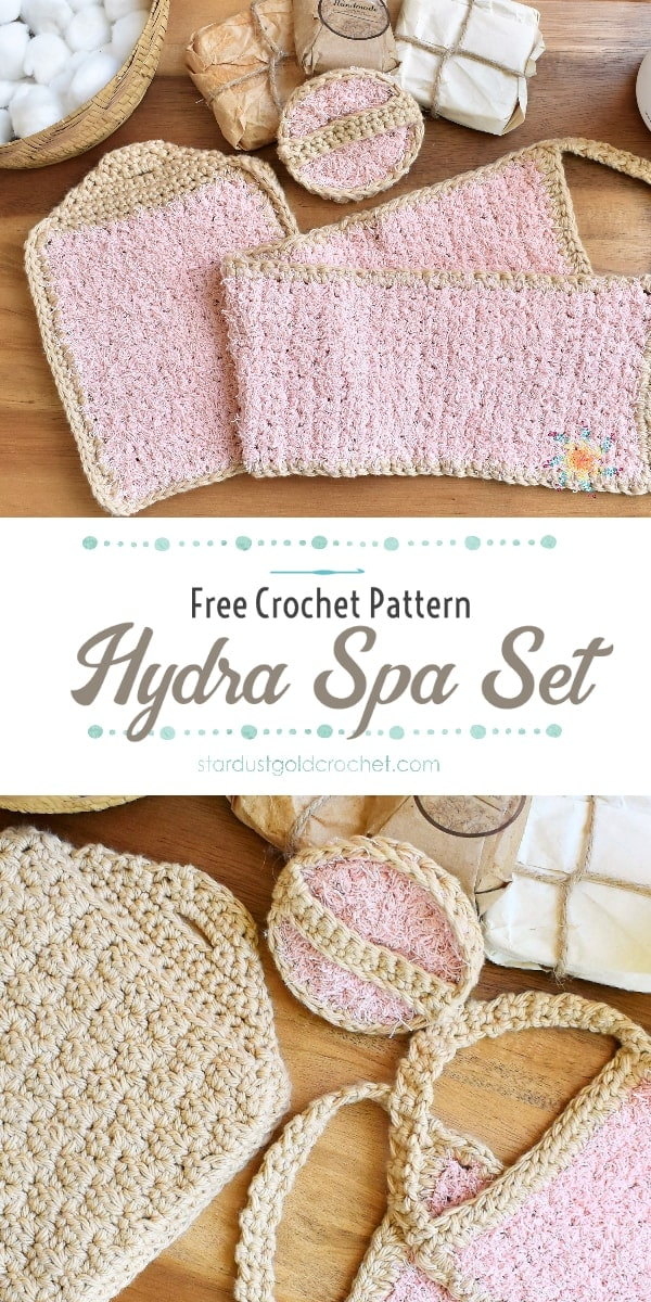 Hydra Spa Set by Stardust Gold Crochet