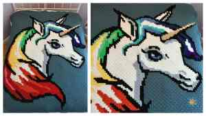 Rainbow Unicorn c2c Graphgan