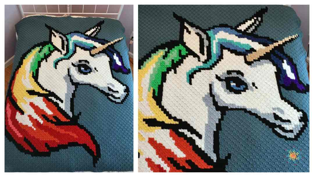 Rainbow Unicorn c2c Graphgan