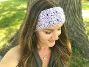 Aria Headband by Stardust Gold Crochet