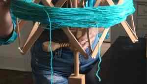 Yarn Ball Winder Tutorial Tighten Swift