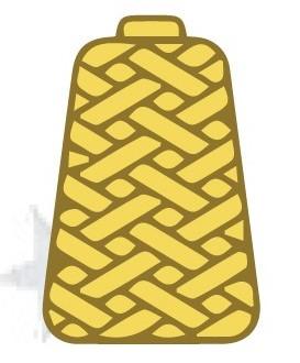 cone of yarn
