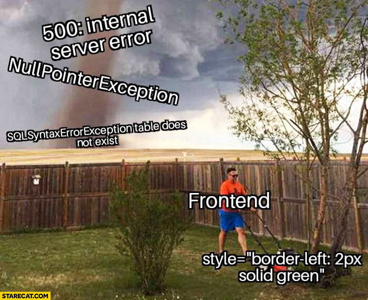 Front End Vs Back End Development Which Is More Painful By