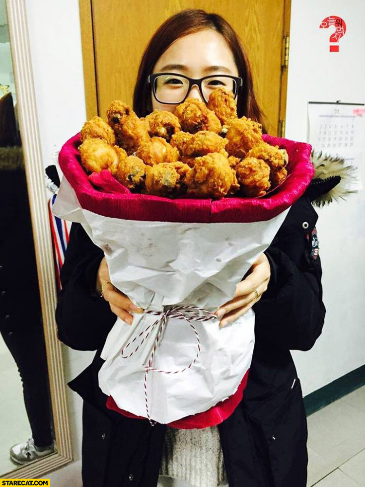 Best Bouquet Ever Chicken Wings Nuggets