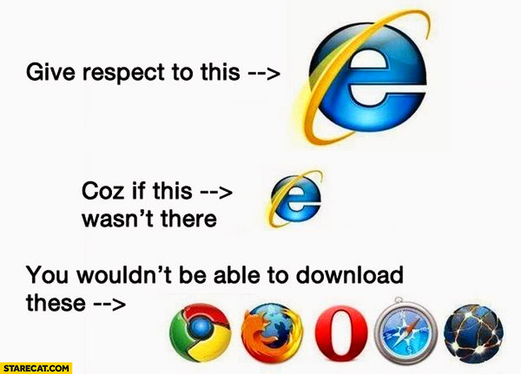 Internet Explorer Memes Starecat Com